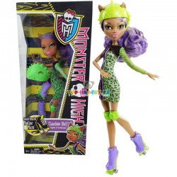 Monster High sport příšerka Clawdeen Wolf