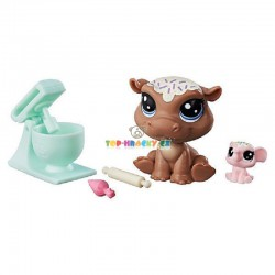 Littlest Pet Shop 46 hroch a 47 slůně