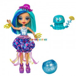 EnchanTimals Vodní svět panenka Jessa Jellyfish