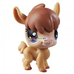 LPS Littlest Pet Shop 128 lama Nita Alpaco