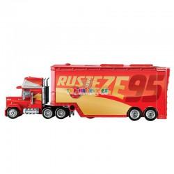 Disney Pixar Cars 3 kamión Mack a Blesk : závodní dráha