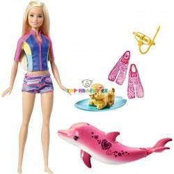 Barbie Magický delfín a panenka blondýnka