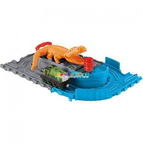 Fisher Price Take-n-play set Gatorův závod s krokodýlem