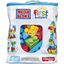 Mega Bloks FB Big Building Bag 60 pro kluky