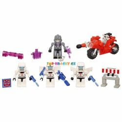 Kre-o Transformers Cycle Chase stavebnice s motorkou