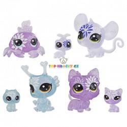 LPS Littlest Pet Shop Květinová zvířátka hortenzie 7 ks s myškou