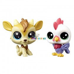 LPS Littlest Pet Shop kozlík a kohout