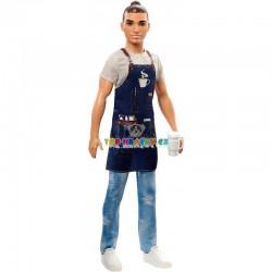 Barbie Ken povolání barista