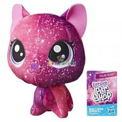 LPS Littlest Pet Shop Plyšák kosmická kočka s pohyblivou hlavou