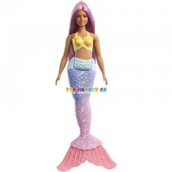 Barbie Kouzelná fialová mořská víla
