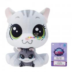 LPS Littlest Pet Shop plyšová kočka a kotě