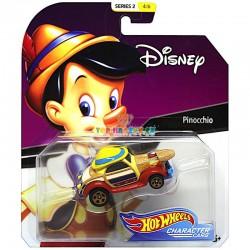 Hot Wheels Angličák kultovní postavy Pinocchio