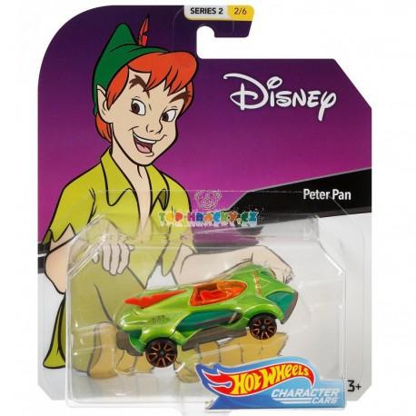 Hot Wheels Angličák kultovní postavy Peter Pan