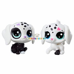 LPS Littlest Pet Shop Černobílé zvířátko psi