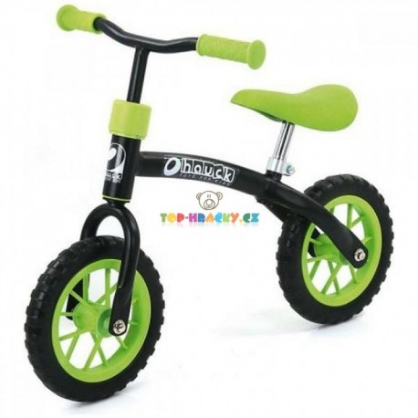 Hauck E-Z Rider 10 odrážedlo zeleno-černé