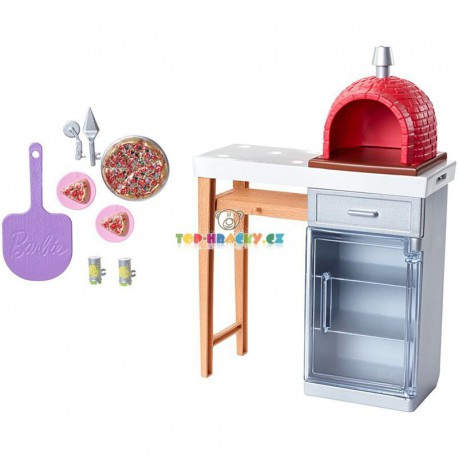 Barbie set Pizza pec