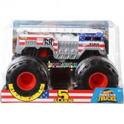 Hot Wheels Monster Truck velký 5 Alarm