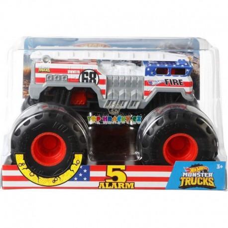 Hot Wheels Monster Truck velký 5 Alarm