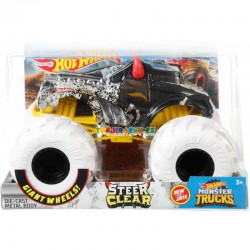 Hot Wheels Monster Truck velký Steer Clear