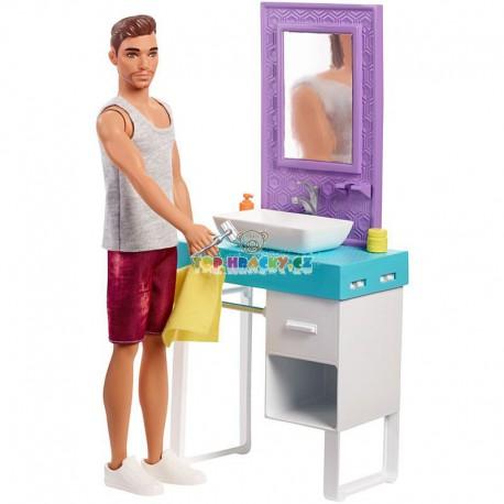 Barbie Ken set holení