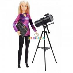 Barbie povolání National Geographic astrofyzička