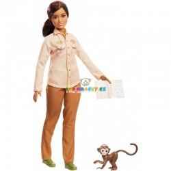 Barbie povolání National Geographic ekoložka