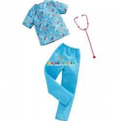 Barbie Kenovy profesní oblečky lékař