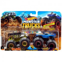 Hot Wheels Monster Truck demoliční duo Bone Shake a Rodger Dodger