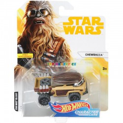 Hot Wheels tématické auto Star Wars Chewbacca