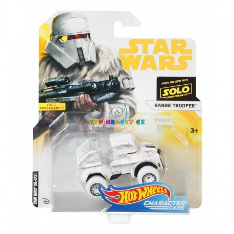 Hot Wheels tématické auto Star Wars Range Trooper