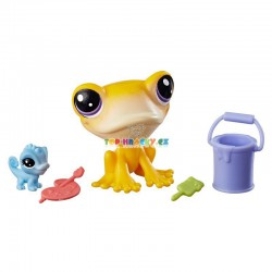 LPS Littlest Pet Shop 50 žába a 51 chameleon