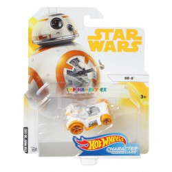 Hot Wheels tématické auto Star Wars BB-8