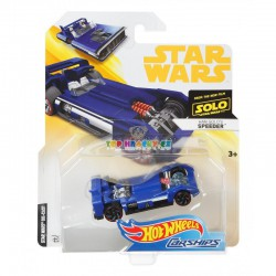 Hot Wheels tématické auto Star Wars Han Solos Speeder