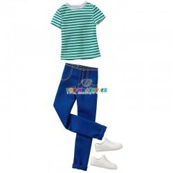 Barbie Kenovy oblečky tričko a kalhoty