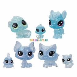 LPS Littlest Pet Shop Zvířátka z ledového království 7ks koník