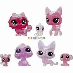 LPS Littlest Pet Shop Zvířátka z ledového království 7ks srnka