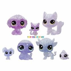 LPS Littlest Pet Shop Zvířátka z ledového království 7ks liška