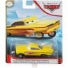 Disney Pixar Cars žlutý hydraulic Ramone