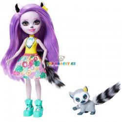 EnchanTimals panenka Larissa Lemurová a lemur Ringlet