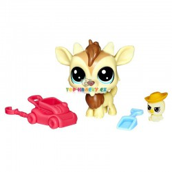 LPS Littlest Pet Shop 116 kozlík a 117 kachnička