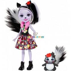 EnchanTimals panenka Sage Skunková se zvířátkem model 2019