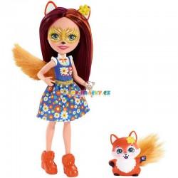 EnchanTimals panenka Felicity Lišková se zvířátkem