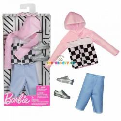 Barbie Kenovy oblečky s kapucí