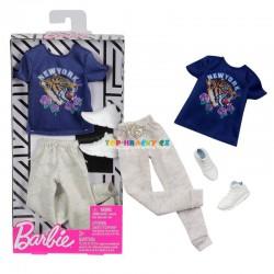 Barbie Kenovy oblečky tričko a tepláky