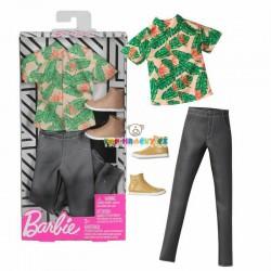 Barbie Kenovy oblečky košile s krátkým rukávem