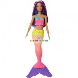 Barbie Mořská panna fialová