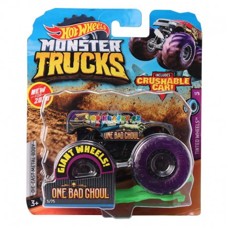 Hot Wheels Monster Truck One Bad Ghoul