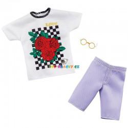 Barbie Kenovy oblečky tričko a kraťasy