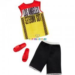 Barbie Kenovy oblečky sportovní set tričko a kraťasy