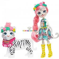 EnchanTimals panenka Tadley Tygrová a bílý tygr